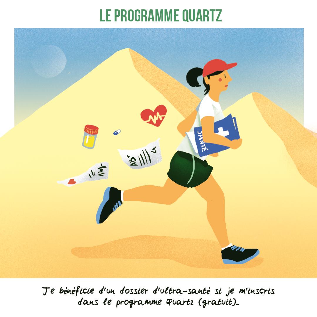 Ultra Sport Science - programme quartz